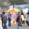 PurpleDayIndia  at the Mumbai Marathon