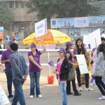 PurpleDayIndia  at the Mumbai Marathon